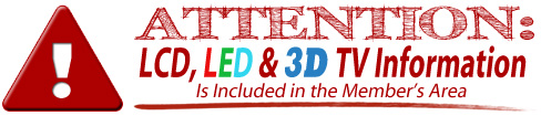 included led tv and 3d tv repair manuals