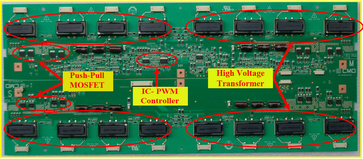 LCD TV Inverter Board English lcd & led tv repair tips training manual & repair guide samsung led tv wiring diagram at bakdesigns.co