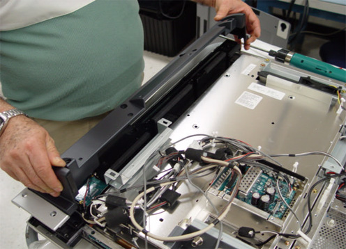 disassembly sony lcd tv