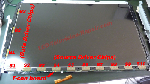 This LCD TV Display Problem Cant Be Repair